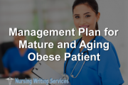Management Plan for Mature and Aging Obese Patient