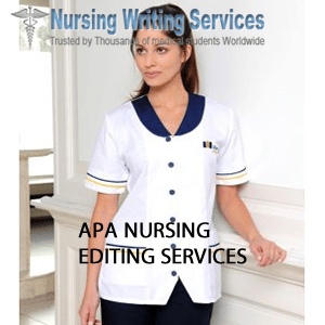 APA NURSING EDITING SERVICES
