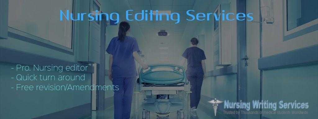 Editing services online