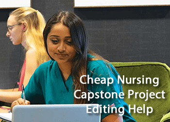 Cheap Nursing Capstone Project Editing Help