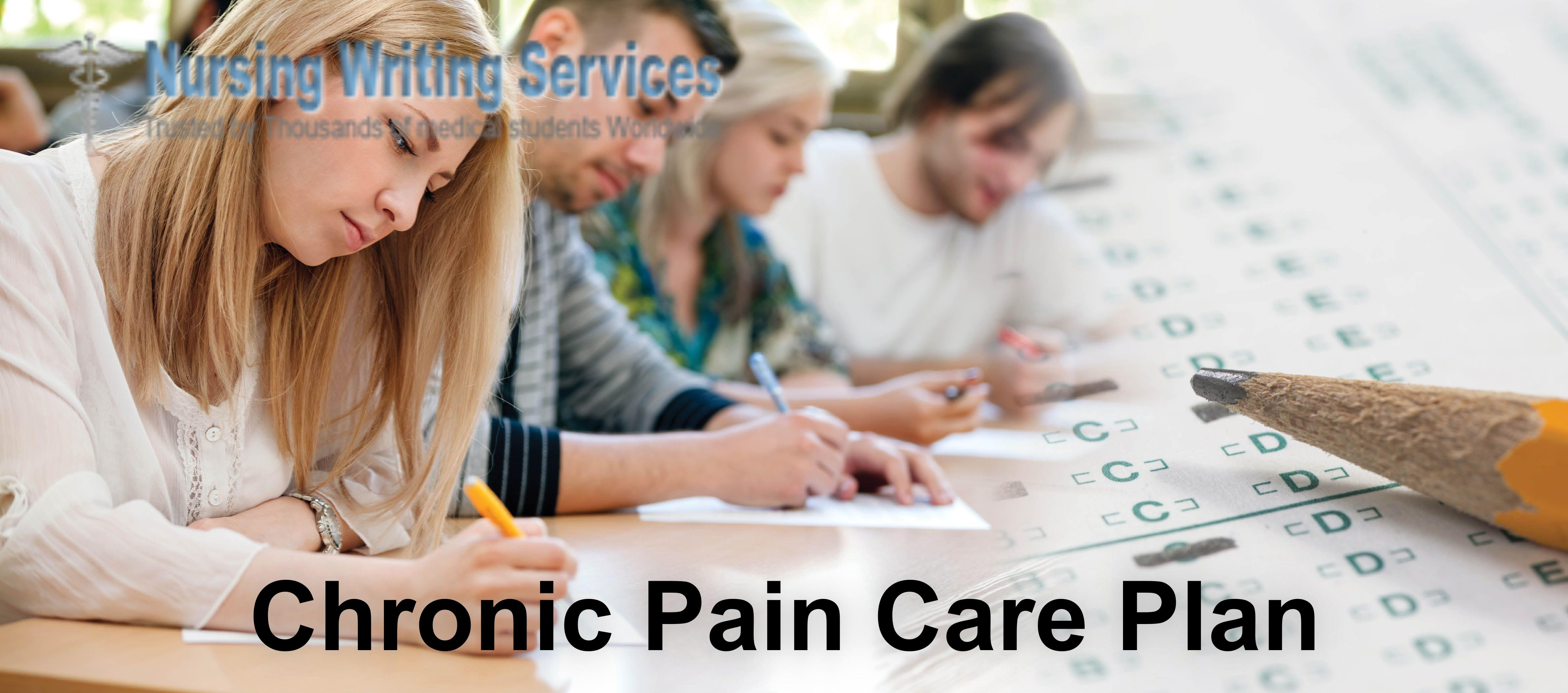 Chronic Pain Care Plan Writing Services
