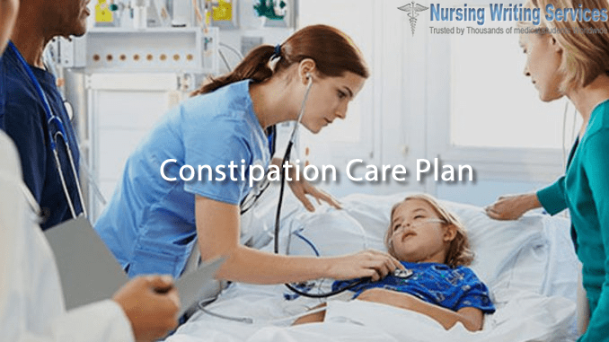 Constipation Care Plan Writing Help