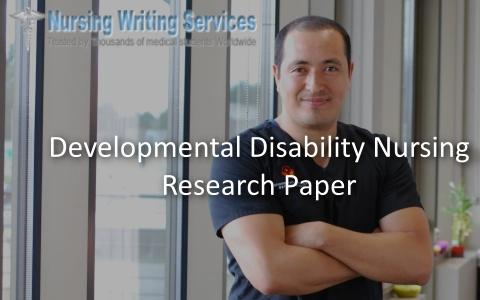 developmental disability nursing research paper