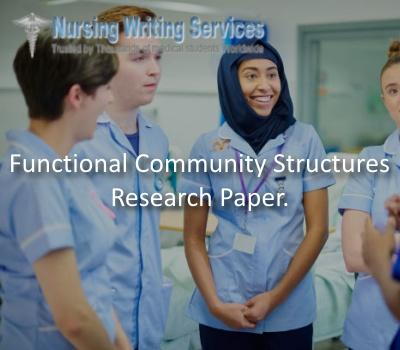 Functional Community Structures Research Paper
