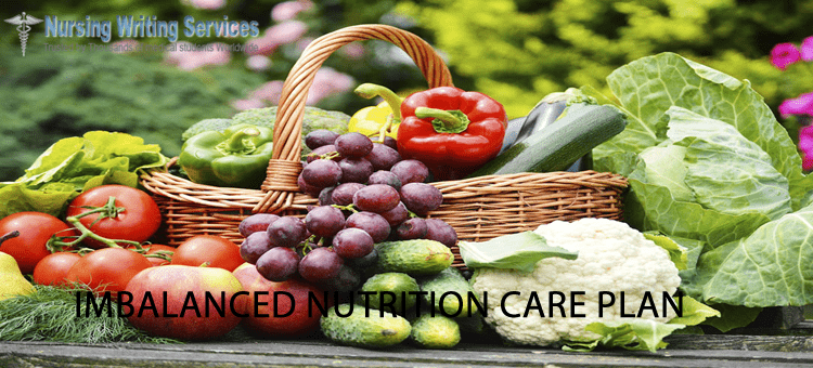 imbalance nutrition care plan writing services