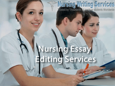 Nursing Essay Editing Services