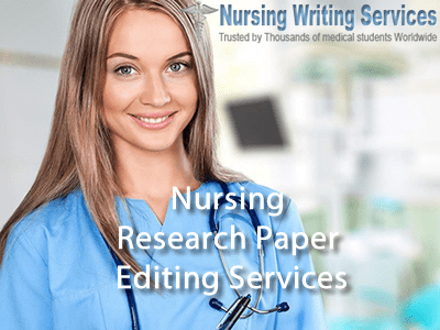 Nursing Research Paper Editing Services
