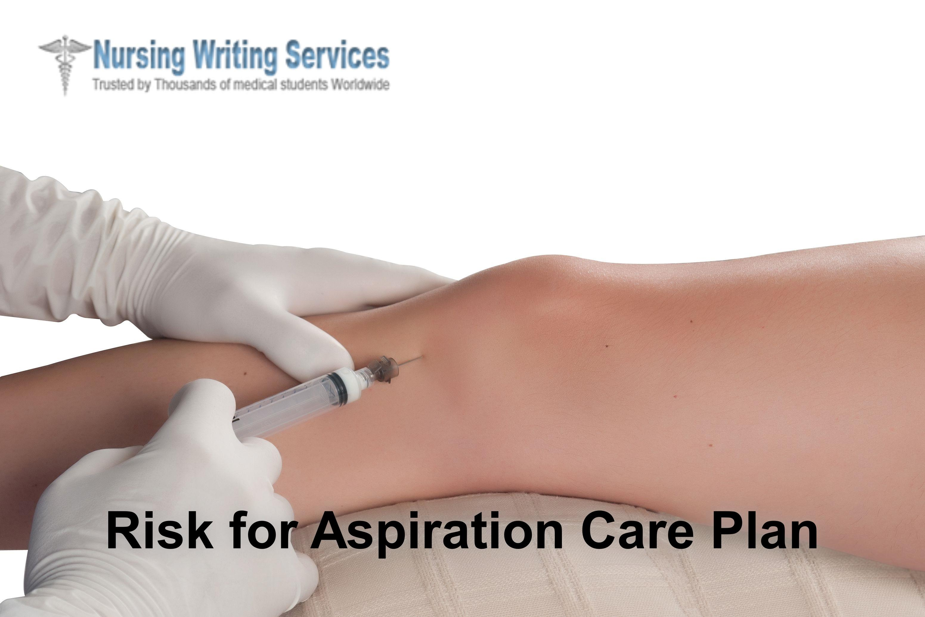 Risk for Aspiration Care Plan Writing Services