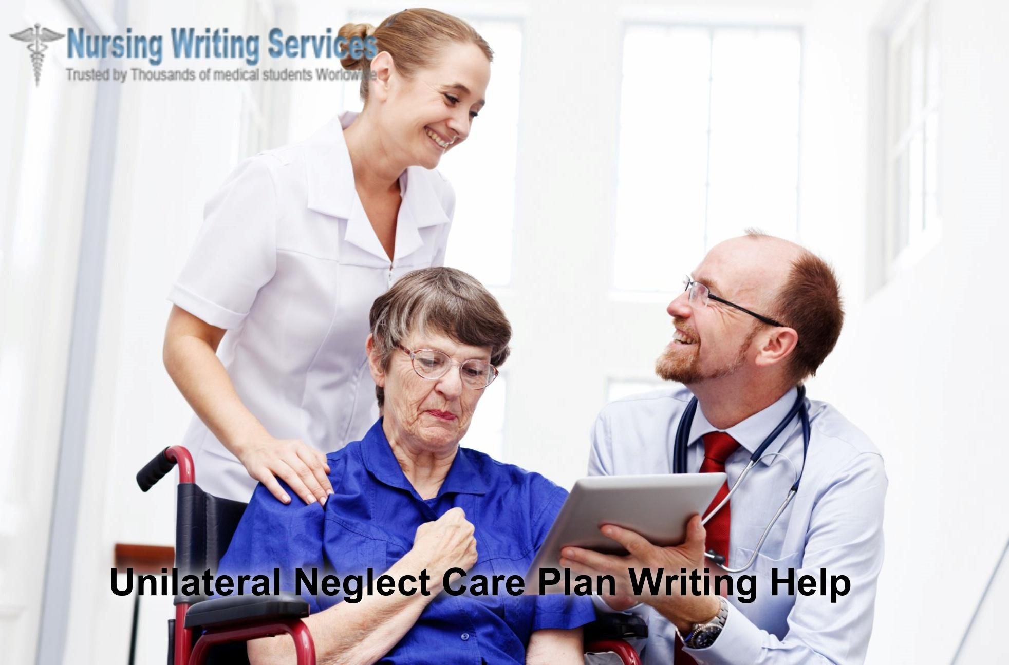 Unilateral Neglect Care Plan Writing Help