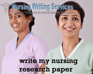 Write my nursing research paper