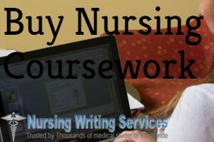Buy Nursing Coursework