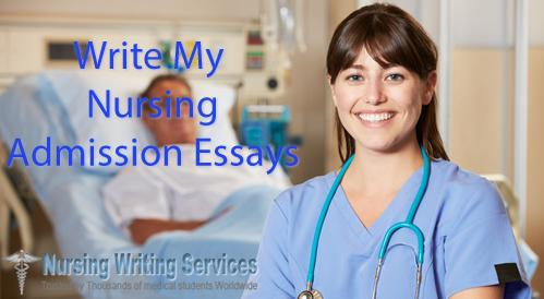 Write My Nursing Admission Essay