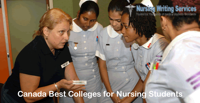 Canada Best Colleges for Nursing Students
