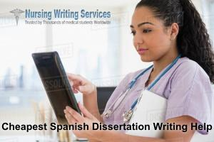 Cheapest Spanish Dissertation Writing Help