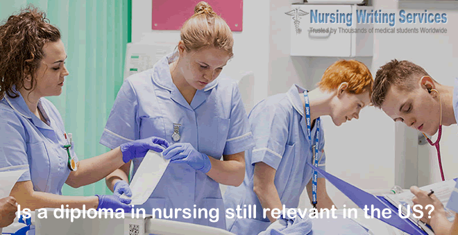 Is a diploma in nursing still relevant in the US?
