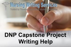 DNP Capstone Project Writing Help