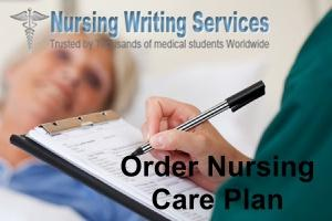order nursing care plan
