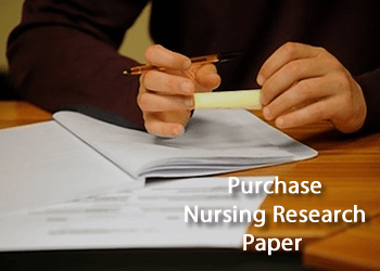 Purchace Nursing Research Paper