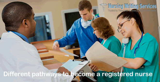 Different pathways to become a registered nurse