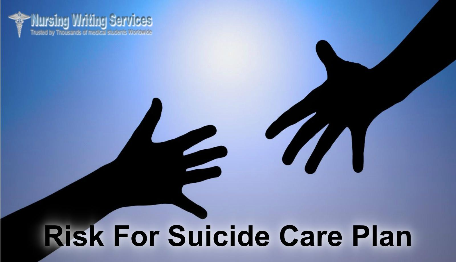 Risk For Suicide Care Plan Writing Services