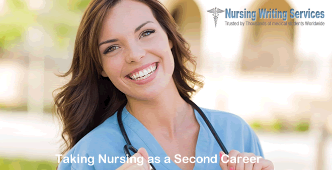 Taking Nursing as a Second Career
