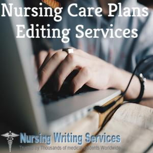 Nursing Care Plans Editing Services