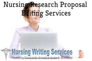 Nursing Research Proposal Editing Services