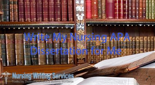How to write a good nursing dissertation